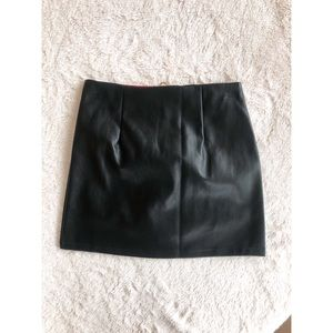 SHEIN Skirts - Zip front, color block skirt